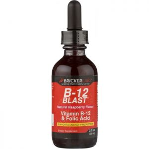 BRICKER LABS Blast B12 Vitamin B12 and Folic Acid
