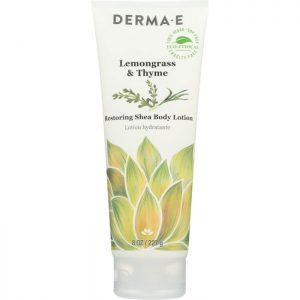 DERMA E Lemongrass & Thyme Restoring Shea Body Lotion
