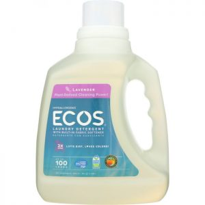 EARTH FRIENDLY Ecos 2x Ultra Liquid Laundry Detergent Lavender