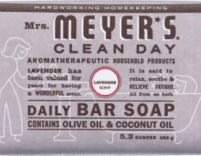 MRS MEYERS CLEAN DAY Daily Bar Soap Lavender