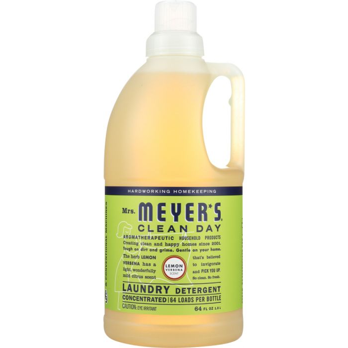 MRS. MEYER'S Clean Day Laundry Detergent Lemon Verbena Scent