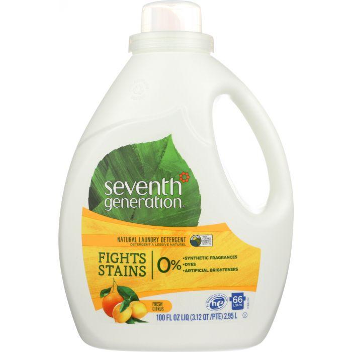SEVENTH GENERATION Natural Laundry Detergent Fresh Citrus