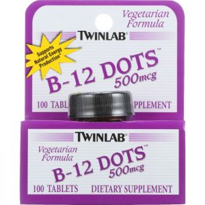 TWINLAB B-12 Sublingual Dots 500 Mcg