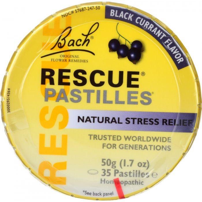 BACH Flower Remedies Rescue Pastilles Black Currant