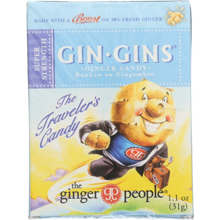 GINGER PEOPLE Super Strength Ginger Candy