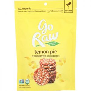 GO RAW Cookie Lemon Pie Sprouted
