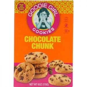 GOODIE GIRL Cookies Gluten Free Quinoa Chocolate Chunk Cookies