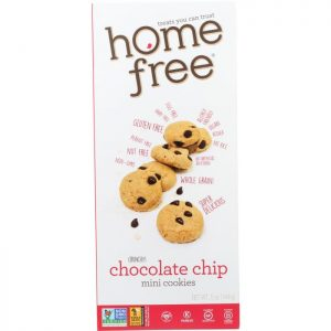 HOME FREE Gluten Free Mini Chocolate Chip Cookies