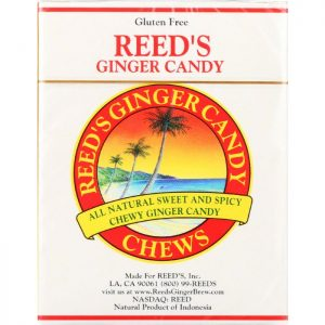 REEDS Ginger Chew Candy Rolls