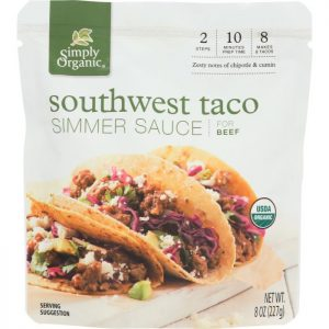SIMPLY ORGANIC Sauce Southwest Taco