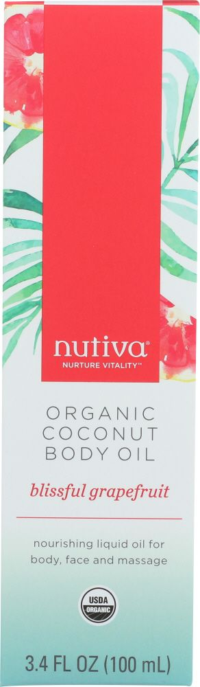 Nutiva coconut body oil has a variety of benefits