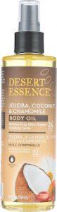 Some customers prefer coconut body oil as a spray