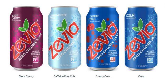 Zevia soda flavors