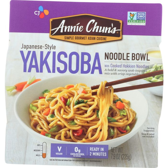 ANNIE CHUNS Japanese Style Yakisoba Noodle Bowl