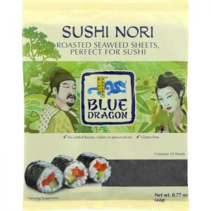 BLUE DRAGON Sushi Nori Roasted Seaweed Perfect For Sushi