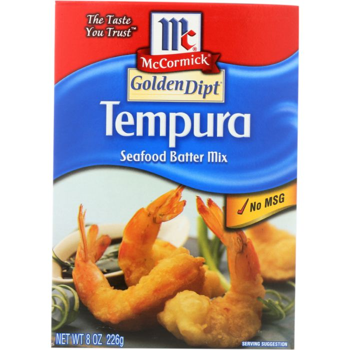 GOLDEN DIPT Tempura Seafood Batter Mix