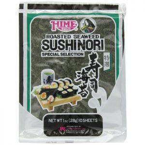 HIME Sushinori Roasted Seaweed Sheets