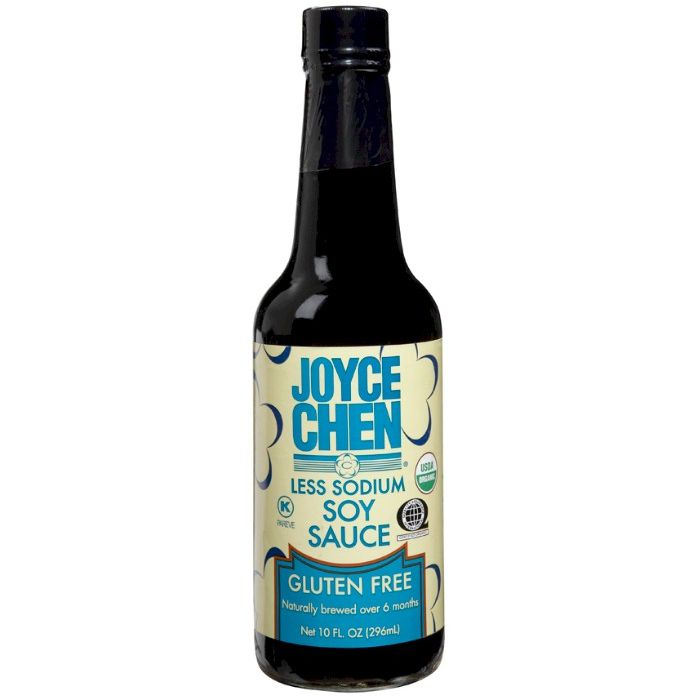JOYCE CHEN Sauce Soy Gluten Free Less Sodium