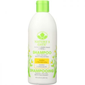 NATURES GATE Revitalizing Shampoo Jojoba + Sacred Lotus
