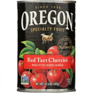OREGON Red Tart Cherries In Water