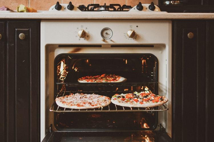 Italian food in oven
