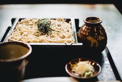Japanese food plate