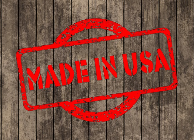 When sourcing products, look for made in USA
