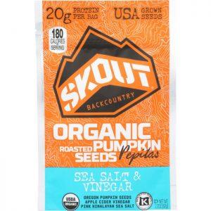 SKOUT Pumpkin Seeds Sea Salt Vinegar