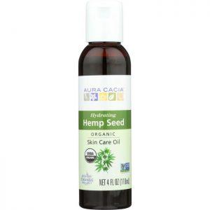 AURA CACIA Organic Hemp Seed Oil