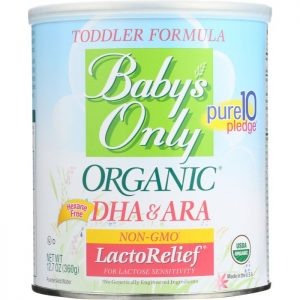 BABYS ONLY ORGANIC Toddler Formula LactoRelief Iron Fortified