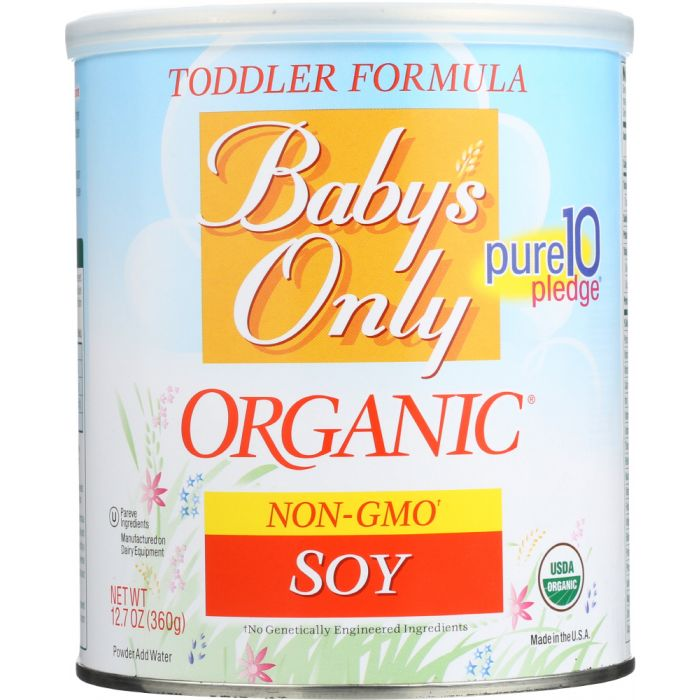 BABY'S ONLY Organic Soy Toddler Formula Iron Fortified