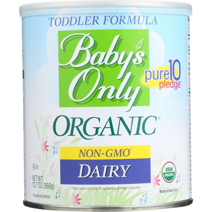 BABY'S ONLY Organic Toddler Formula Dairy Iron Fortified