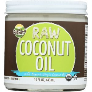 DIGNITY COCONUTS Raw Coconut Oil Organic & Virgin