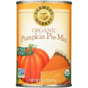FARMERS MARKET FOODS Organic Pumpkin Pie Mix