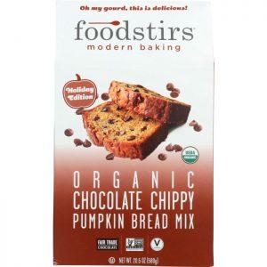 FOODSTIRS Mix Chocolate Chippy Pumpkin Bread