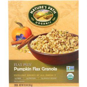 NATURE'S PATH Organic Flax Plus Pumpkin Flax Granola Cereal