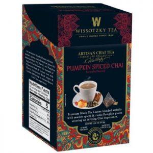 WISSOTZKY Tea Spiced Pumpkin Chai