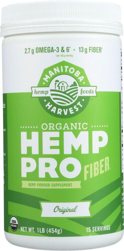 Wholesale hemp protein has lots of fiber