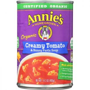ANNIES HOMEGROWN Soup Creamy Tomato Bunny Pasta