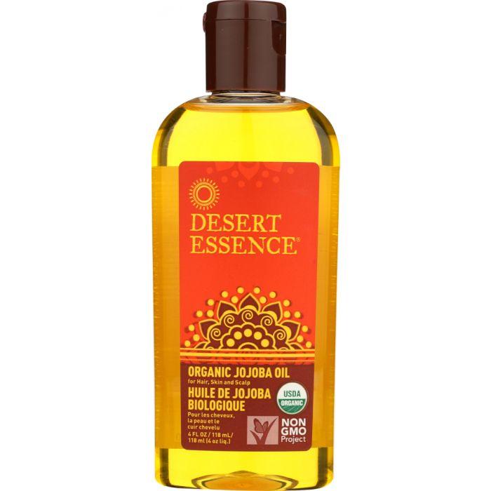 DESSERT ESSENCE Organic Jojoba Oil for Hair Skin & Scalp