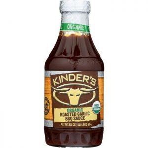 KINDERS Sauce Bbq Roasted Garlic