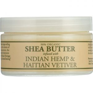 NUBIAN HERITAGE Shea Butter Infused with Indian Hemp & Haitian Vetiver