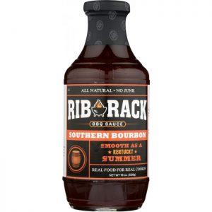 RIB RACK Southern Bourbon BBQ Sauce