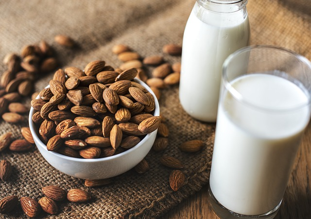 Almond milk has more calcium than dairy milk