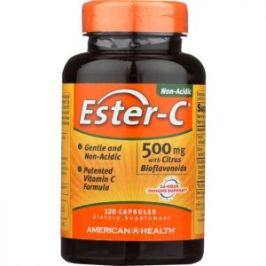 AMERICAN HEALTH Ester-C 500 mg with Citrus Bioflavonoids