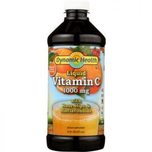 DYNAMIC HEALTH Vitamin C Liquid, 1000