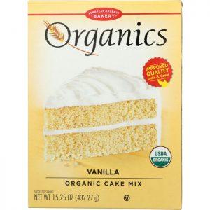 EUROPEAN GOURMET BAKERY Vanilla Organic Cake Mix