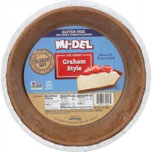 MI-DEL Pie Crust, Graham Style