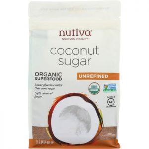 NUTIVA Sugar Coconut Organic Sugar
