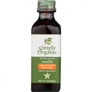 SIMPLY ORGANIC Vanilla Flavoring